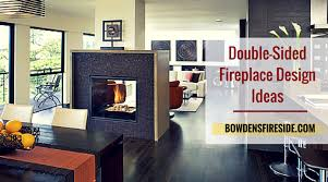 amazing double sided fireplace design ideas