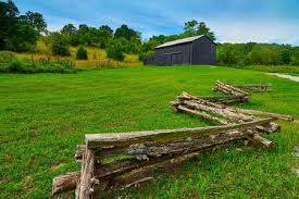 White Split Rail Fence Stock Photos And Images 123rf