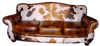 rustic cowhide sofas rustic sofas