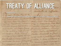 Image result for treaty of alliance