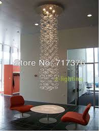 bubble glass chandelier pendant lamp