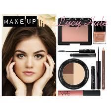 lucy hale makeup natural smokey eye