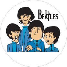 Beatles Cartoon Vinyl Sticker R21 Winter Park Products