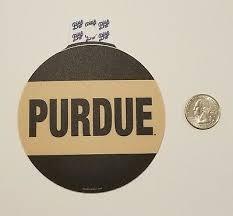 Purdue Boilermakers Premium Vinyl Decal Bumper Sticker Full Color Ncaa Nice Ebay