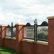 Decorative Custom Ironwork Wrought Iron Fence Design For Sale For Garden Decor Iok 215 You Fine Sculpture