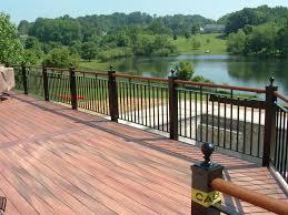 deck railings from stone patios va