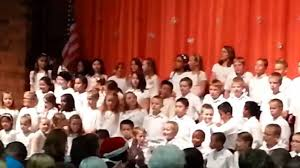 Calvin Smith Elementary Choir Pt.1 - YouTube