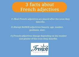 french adjectives