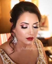 bridal party prom hair makeup