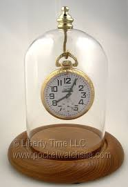 dueber pocket watch display dome with