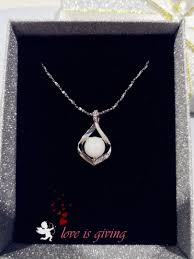 t milk keepsake necklace diamond