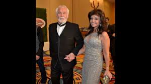 Kenny Rogers and his wife Wanda Miller ...