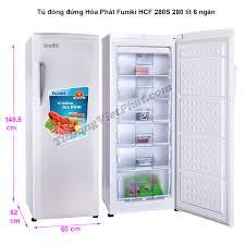 Tủ đông đứng Hòa Phát Funiki HCF 280S 280 lít 6 ngăn - Giá rẻ T9/2020
