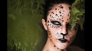 leopard print make up tutorial