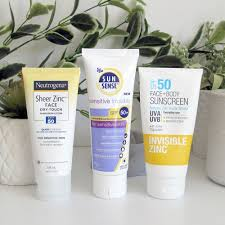 zinc sunscreen review and white cast