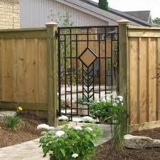 Pressure Treated Wooden Fencing Home Products On Houzz Metal Garden Gates Iron Garden Gates Fence Gate Design