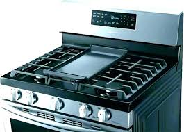 fireplace scenic flat top gas range