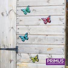 Small Butterfly Wall Fence Decorations S T Fencing Timber Products