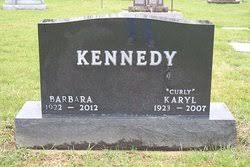 "Karyl Duane ""Curly"" Kennedy (1923-2007) - Find A Grave Memorial"