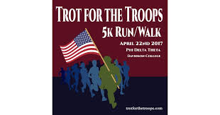 Trot For The Troops 5k and Fun Run Results