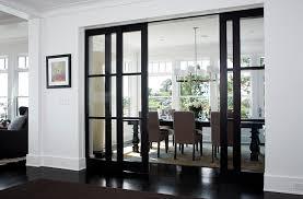 glass pocket doors design ideas