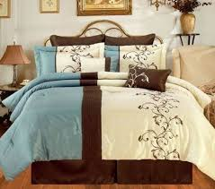 8pc amber blue queen by blowout bedding