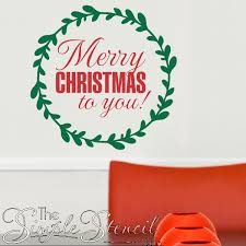 Merry Christmas Wall Decals And Removable Stickers For Easy Holiday Decor