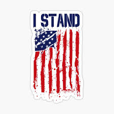 Stand For The Flag Stickers Redbubble