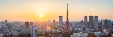 Jan Becke Tokyo Skyline At Sunset With Tokyo Tower Photocircle Net