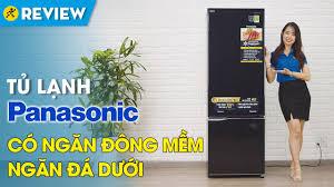 Tủ lạnh Panasonic Inverter 322 lít: ngăn đông mềm, tiết kiệm điện ...