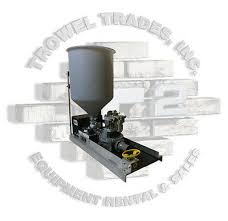air operated mortar grout kenrich