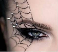spider eye makeup tutorial on