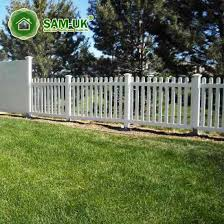 China 4 X 8 Round Top Vinyl Picket Fence Uneven Ground China White Vinyl Picket Fence White Vinyl Picket Fencing