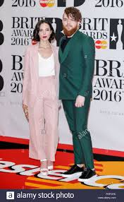 London, UK. 24th Feb, 2016. Jack Garratt and guest arrive at the ...