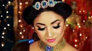 princess jasmine hair makeup tutorial