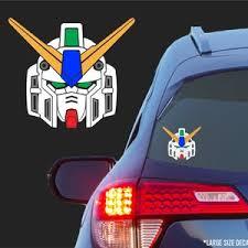 Burning God Gundam Vinyl Decal For Cars Laptops Tablets Etsy