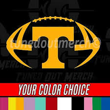 University Of Tennessee Ut Vols Football Car Truck Window Vinyl Decal Sticker 3 49 Picclick