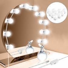 vanity led mirror light kit for makeup