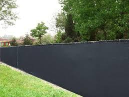 Amazon Com 8 X 50 Black Knitted Polyethylene Privacy Fence Screen 85 Blockage Garden Outdoor
