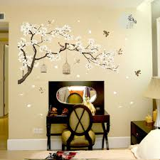 Popdecors Flower Tree Wall Decal Floral Decals Girl S Decal Baby Room Decal H For Sale Online Ebay