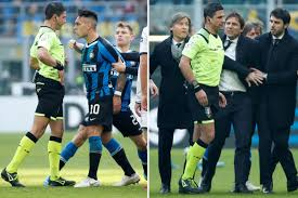 Conte rages at referee after late Martinez red card as Inter's ...