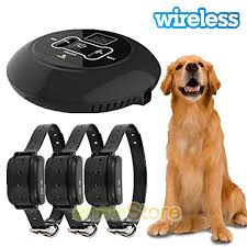 Wireless Electric Dog Fence Pet Containment System Shock Collars For 1 2 3 Dogs Ebay