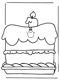Verjaardag 1 Kleurplaten Verjaardag