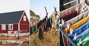 26 clothesline ideas to hang dry your