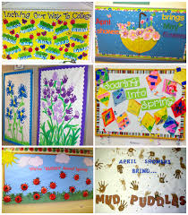 spring bulletin board ideas for the