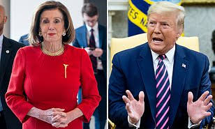 """Image result for Trump is going to be ' impeached forever, ' says Pelosi."""""""