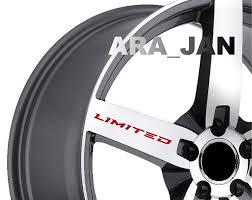 Wheel Decals Arajandecals