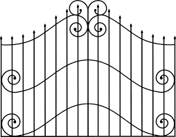 Cemetery Iron Gate Icons Png Free Png And Icons Downloads