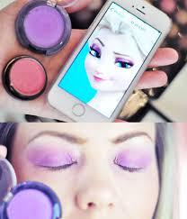 elsa makeup step by step saubhaya makeup