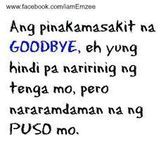 goodbye sad tagalog love quotes